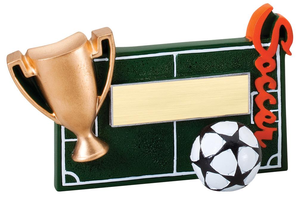 """Soccer - RFC13 -5.25"""" wide x 3.5"""" tall"""