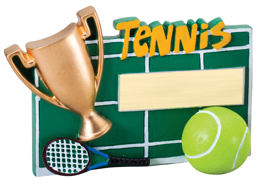 "Tennis   -    RFC15 -  5.25"" wide x 3.5"" tall"