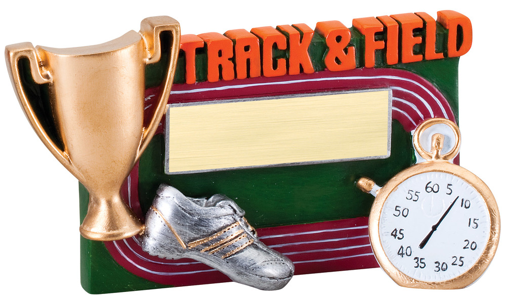 "Track & Field - RFC16 - 5.25"" wide x 3.5"" tall"