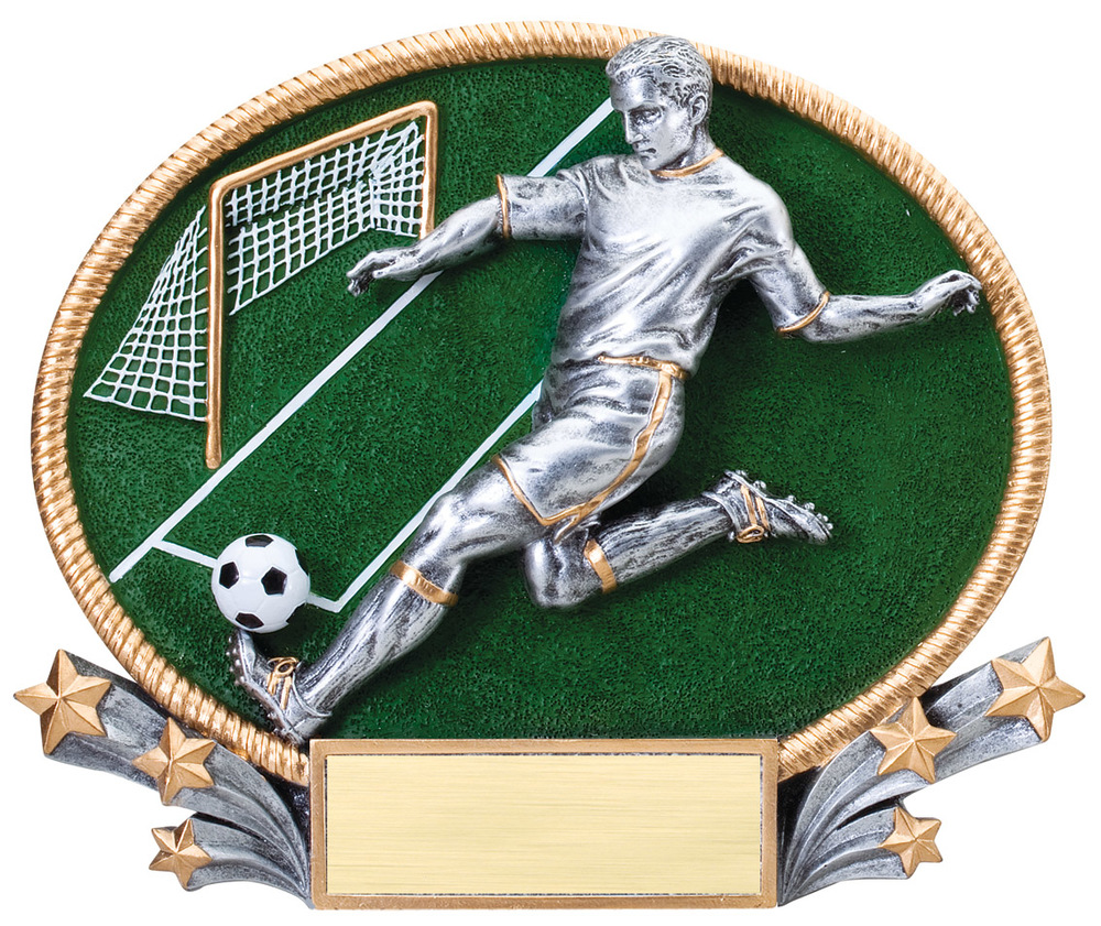 Soccer - Male Large - 3D418 Small - 3D218