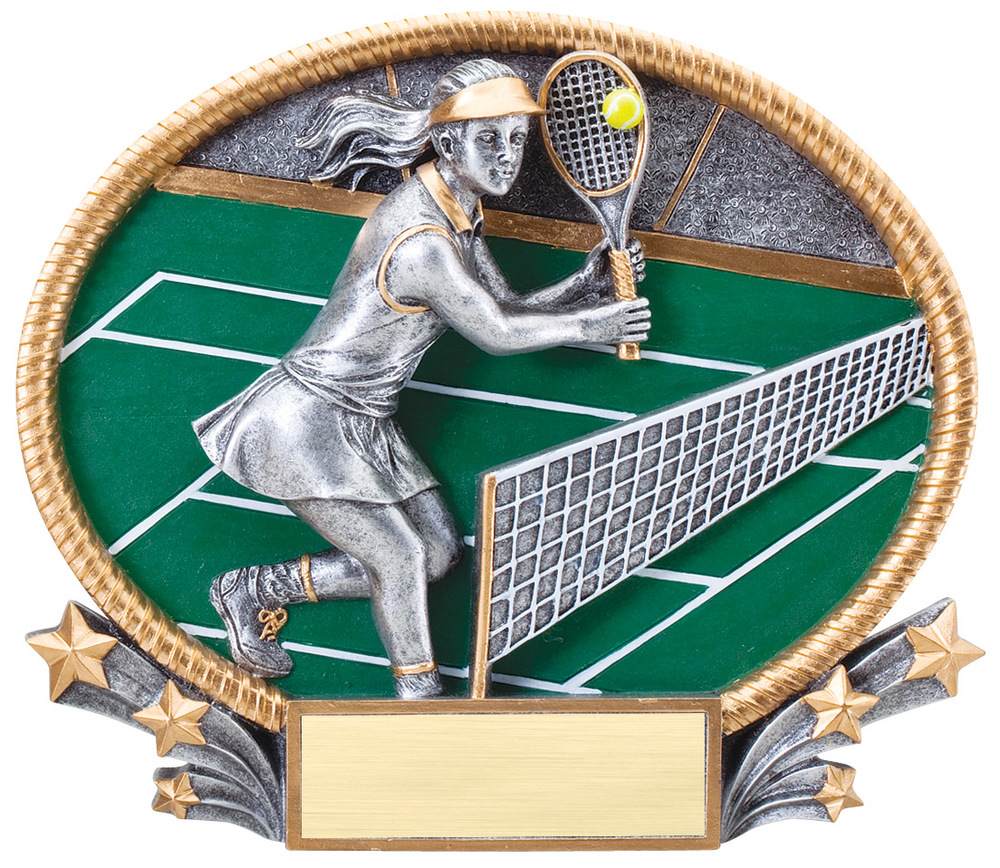 Tennis - Female Large - 3D421 Small - 3D221