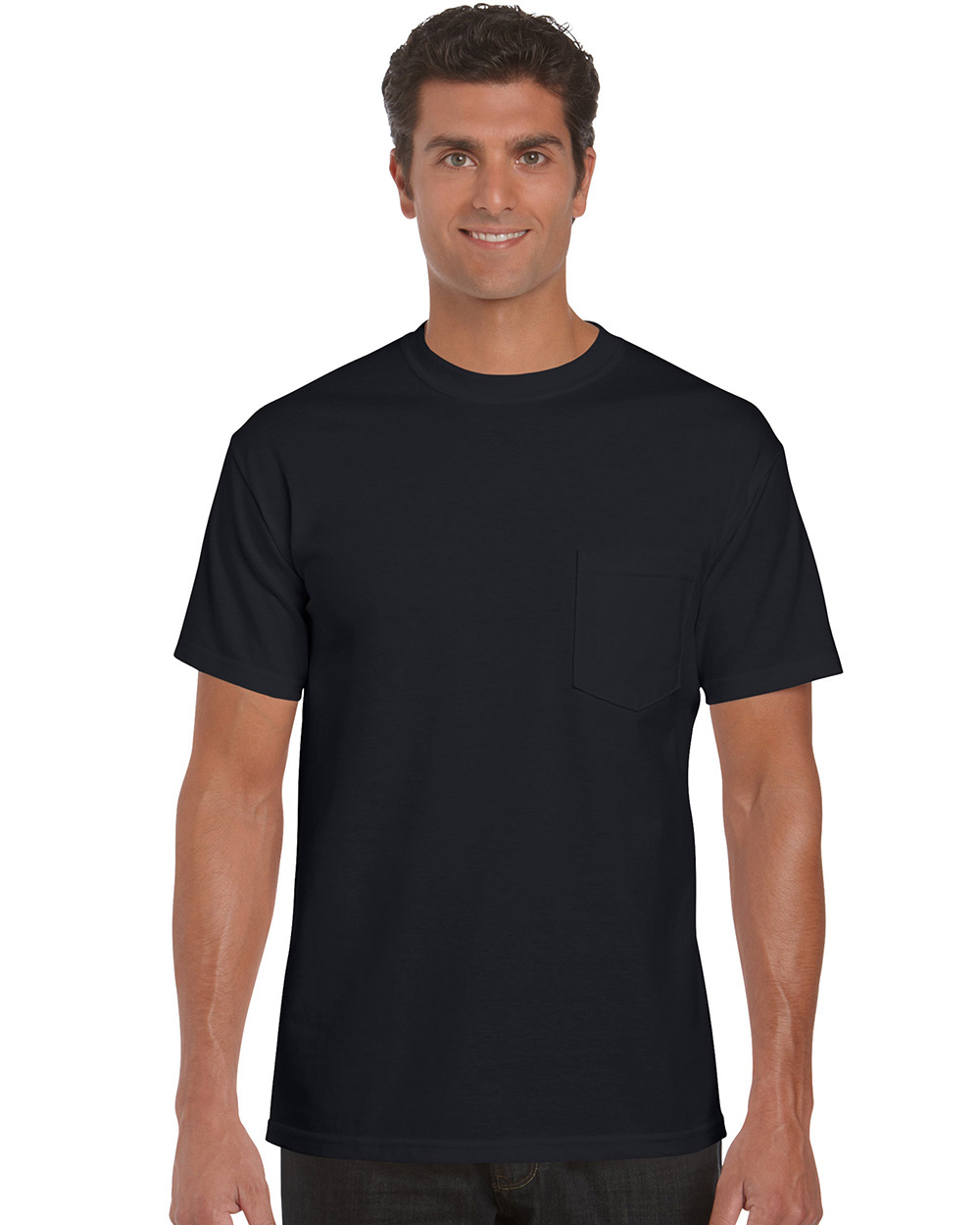 Gildan 2300     Ultra Cotton™    Classic Fit Adult Pocket T-Shirt    6.0 oz. 100% Cotton