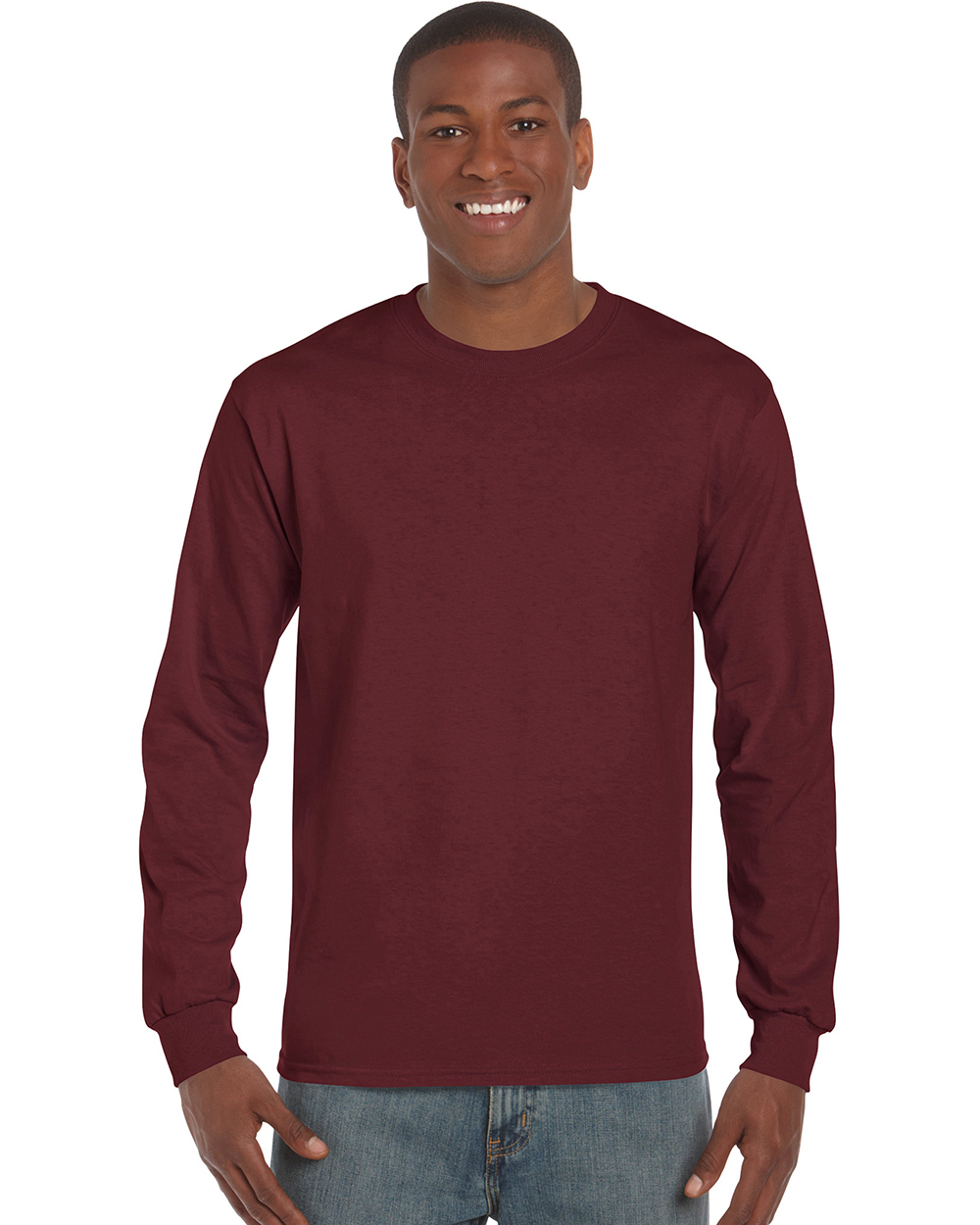 Gildan 2400GL     Ultra Cotton™    Classic Fit Adult Long Sleeve T-Shirt    6.0 oz. 100% Cotton