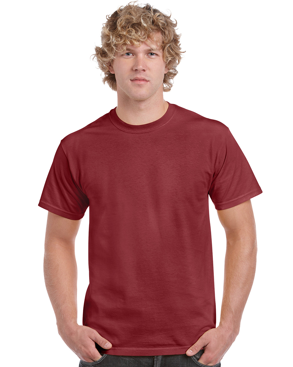 Gildan   5000     Heavy Cotton  ™    Classic Fit Adult T-Shirt    5.3 oz 100% Cotton