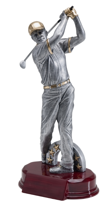 "Golf, Male:   Large - RFC-949 - 10""  Medium - Not Available  Small - Not Available"