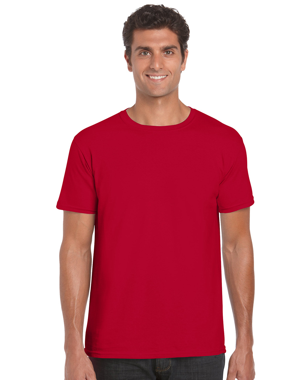 Gildan     64000     Softstyle Euro Fit Adult T-Shirt    4.5 oz. 90  % Cotton / 10% Polyester