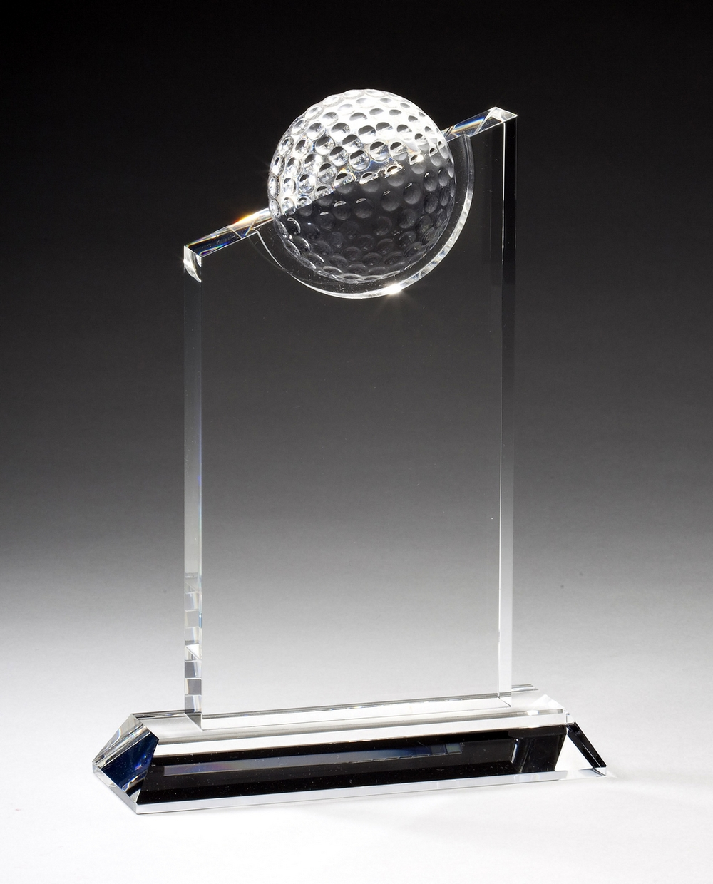 "Crystal Golf Peak Large: CRY182 - 9.5"" tall x 6"" wide - $105 Medium: CRY181 - 8"" tall x 6"" wide - $92 Small: CRY180 - 7.25"" tall x 5.5"" wide - $85"