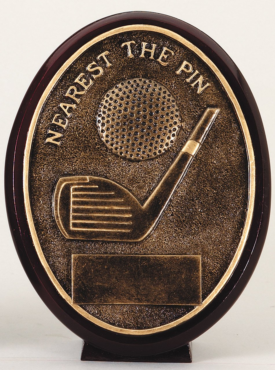 Nearest the Pin - Oval Resin