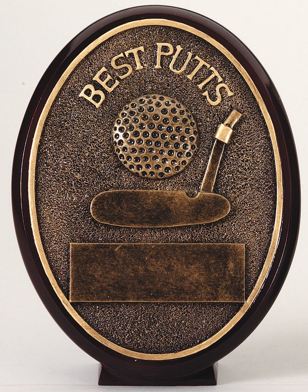 Best Putts - Oval Resin