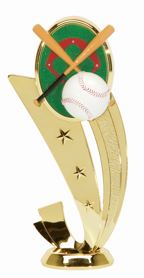 """Sport Scene - Baseball   3550-G - 6.5"""" tall"""