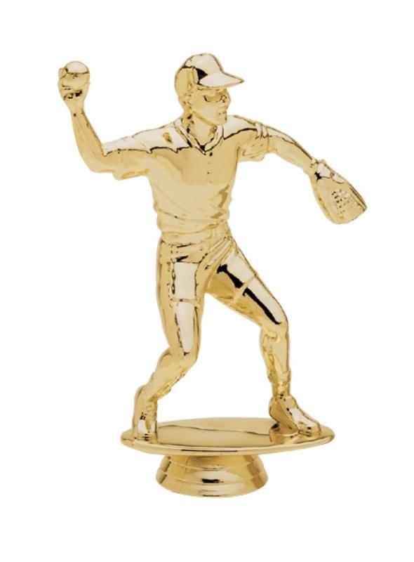 """Softball FIelder, Male 5063-G - 5.75"""" tall"""