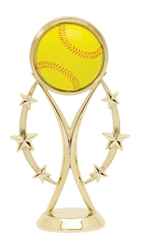 "Color Sport Softball Figure 8520-G - 6"" tall"
