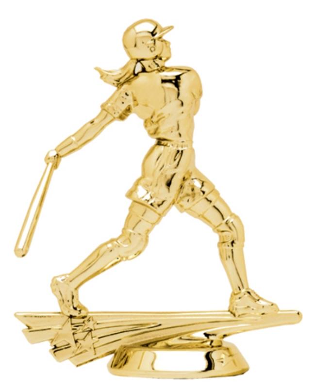 "All Star Softball   6520-G - 5"" tall"