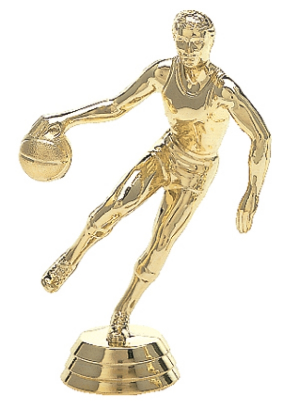 "Action Dribbler - Male   591-G - 4.5"" tall"