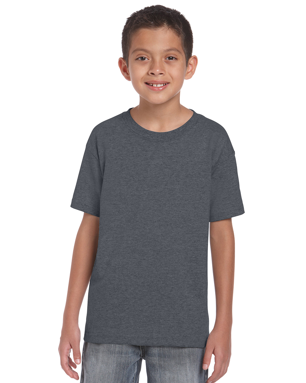 Gildan 8000B     DryBlend™    Classic Fit Youth T-Shirt    5.6 oz. 50% Cotton/50% DryBlend Polyester