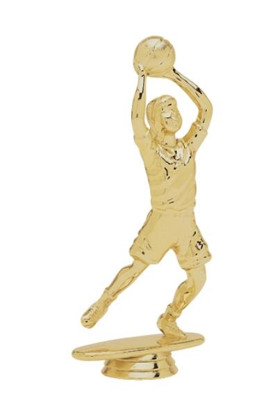 "Junior Basketball - Female 5046-G - 5.5"" tall"