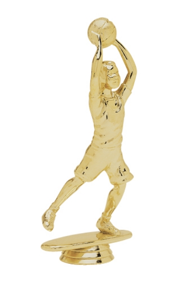 "Junior Basketball - Male   5047-G - 5.5"" tall"