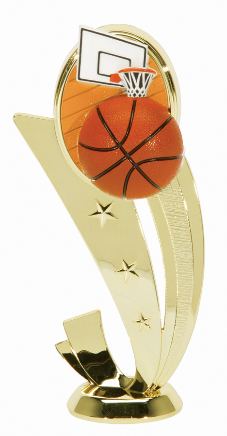"Sport Scene Basketball   3551-G - 6.5"" tall"