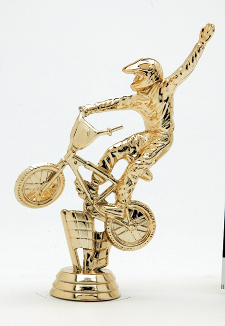 "BMX Dirt Bike - Male   4049-G - 5"" tall"