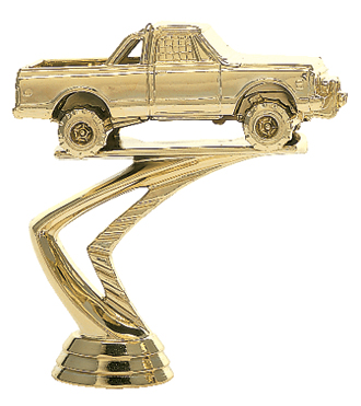 "Pick-Up Truck   376-G - 4"" tall"