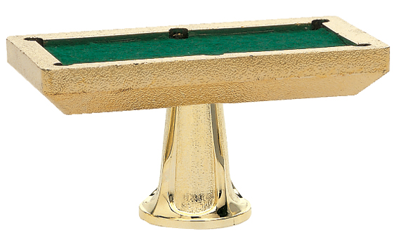 "Pool Table   29-G - 2.25""x 4.25"""