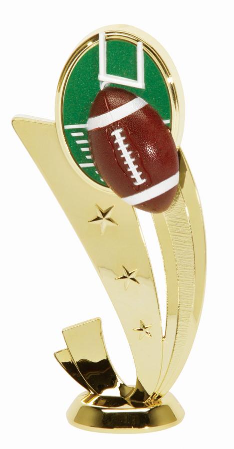 "Sport Scene Football   3553-G - 6.5"" tall"