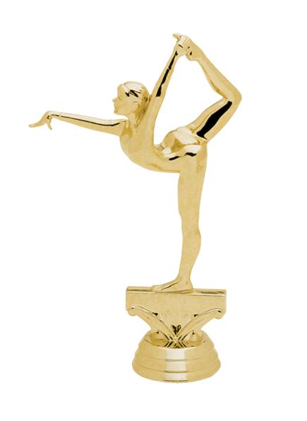 """Gymnast - Female #2   5054-G - 5.5"""" tall"""