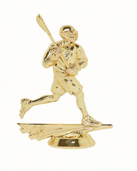 "All Star Lacrosse - Male   6562-G - 5"" tall"