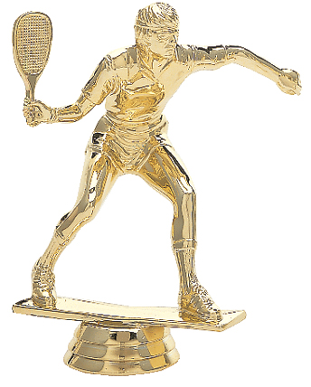 "Racquetball - Male   596-G - 4.5"" tall"