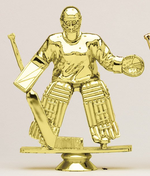 "Hockey Goalie - Female F1571 - 5"" tall"
