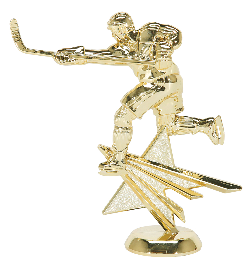 "Star Hockey - Male 2541-G - 6"" tall"