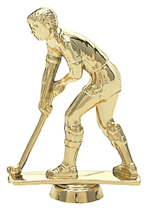 "Field Hockey - Male 437-G - 3.5"" tall"