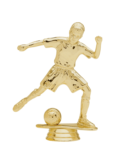 "Junior Soccer - Female   5048-G - 5"" tall"