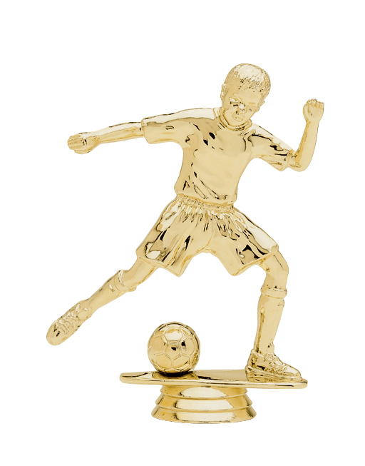 "Junior Soccer - Male   5049-G - 5"" tall"