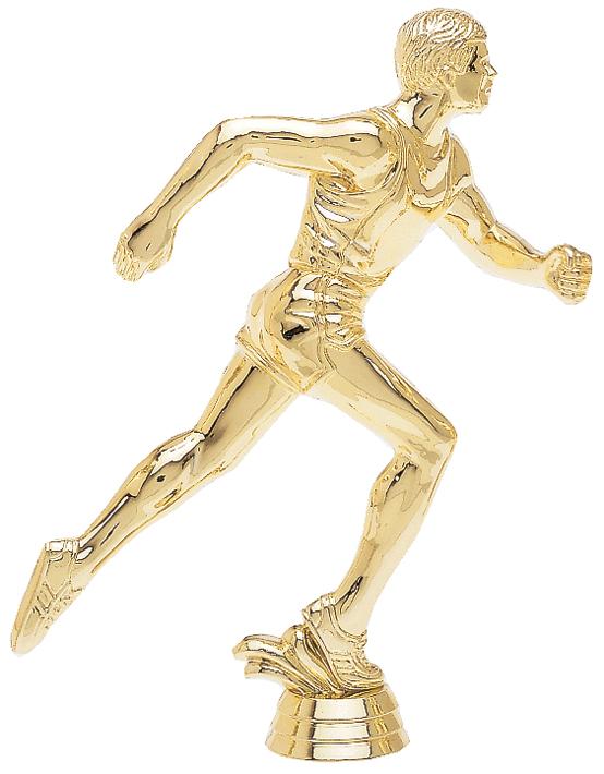 """Runner - Male   1513-G - 8.5"""" tall  609-G - 5.25"""" tall  415-G - 4"""" tall"""