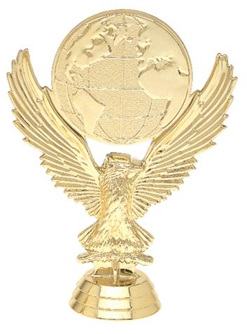 "Eagle Mylar Holder   5039-G - 5"" tall"