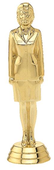 "Military - Female   549-G - 5.25"" tall"