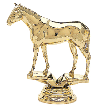 "Thoroughbred 714-G - 3.75"" tall"