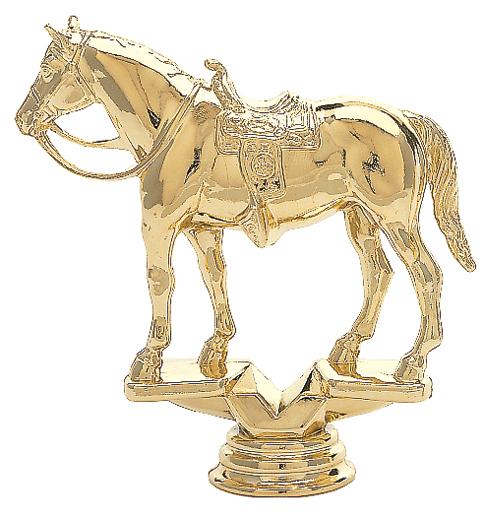 "Western Horse   732-G - 5.5"" tall  702-G - 3.75"" tall  302-G - 2.25"" tall"