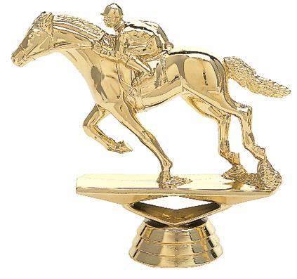"Race Horse   715-G - 3.75"" tall"