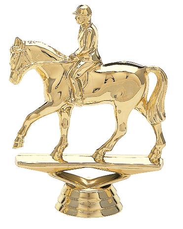 "Equestrian   745-G - 4.5"" tall"