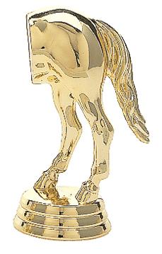 "Horse's Rear   712-G - 3.75"" tall"