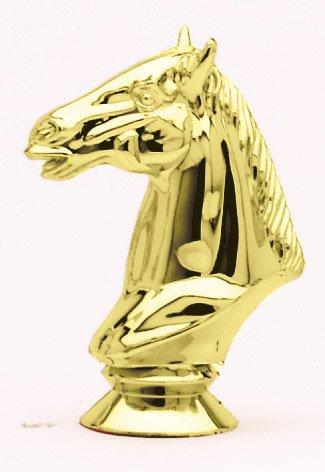 """Horse Head   F1760 - 3.75"""" tall  142-G - 2"""" tall"""