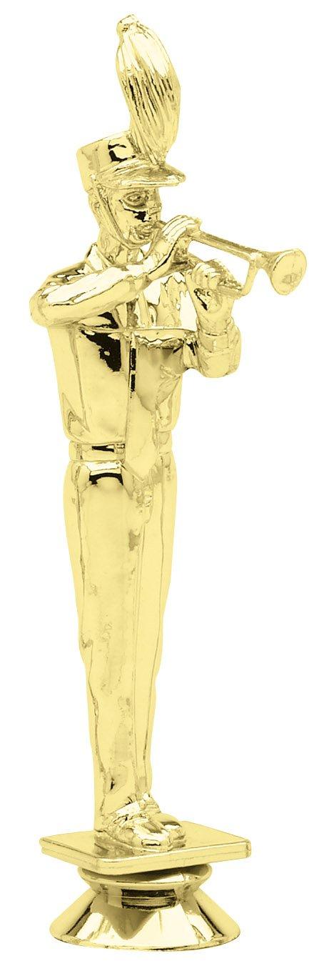 """Trumpet F3622 - 6.5"""" tall"""