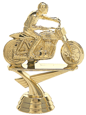 "Motorcycle Flat Track   360-G - 4"" tall"