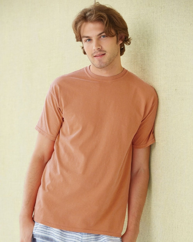 Comfort Colors 1717CL     Soft Washed Adult T-Shirt    6.1 oz. Ring Spun Cotton