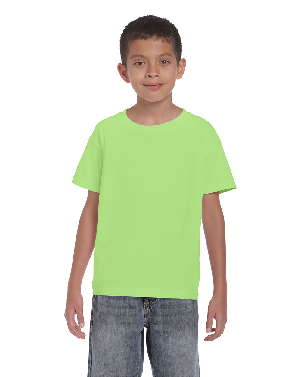 Gildan 2000B        Ultra Cotton™    Classic Fit Youth T-Shirt    6.0 oz. 100% Cotton