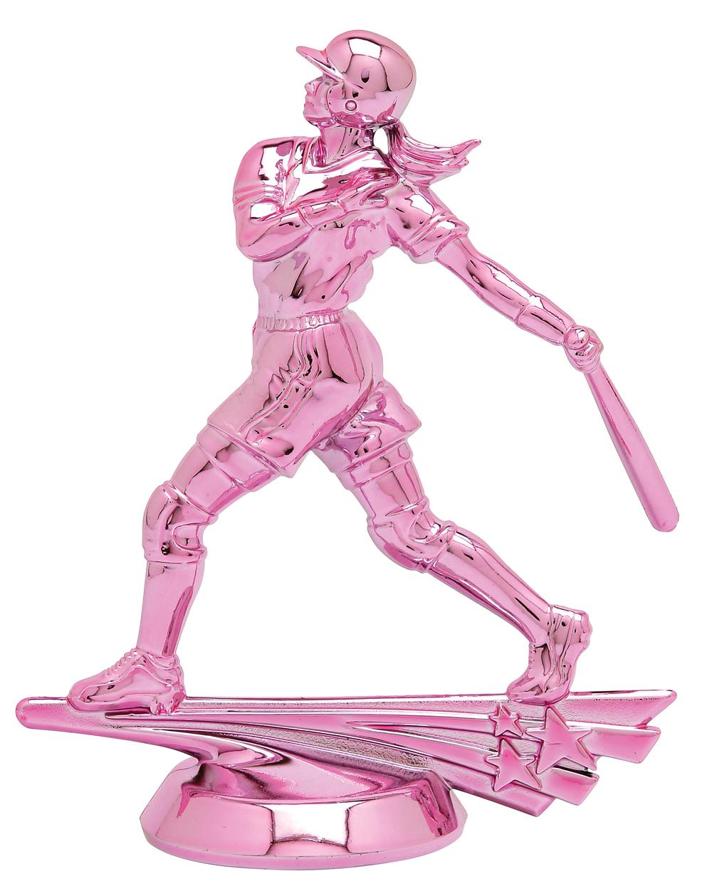 "Pink All Star Softball 6520-H - 5"" tall"