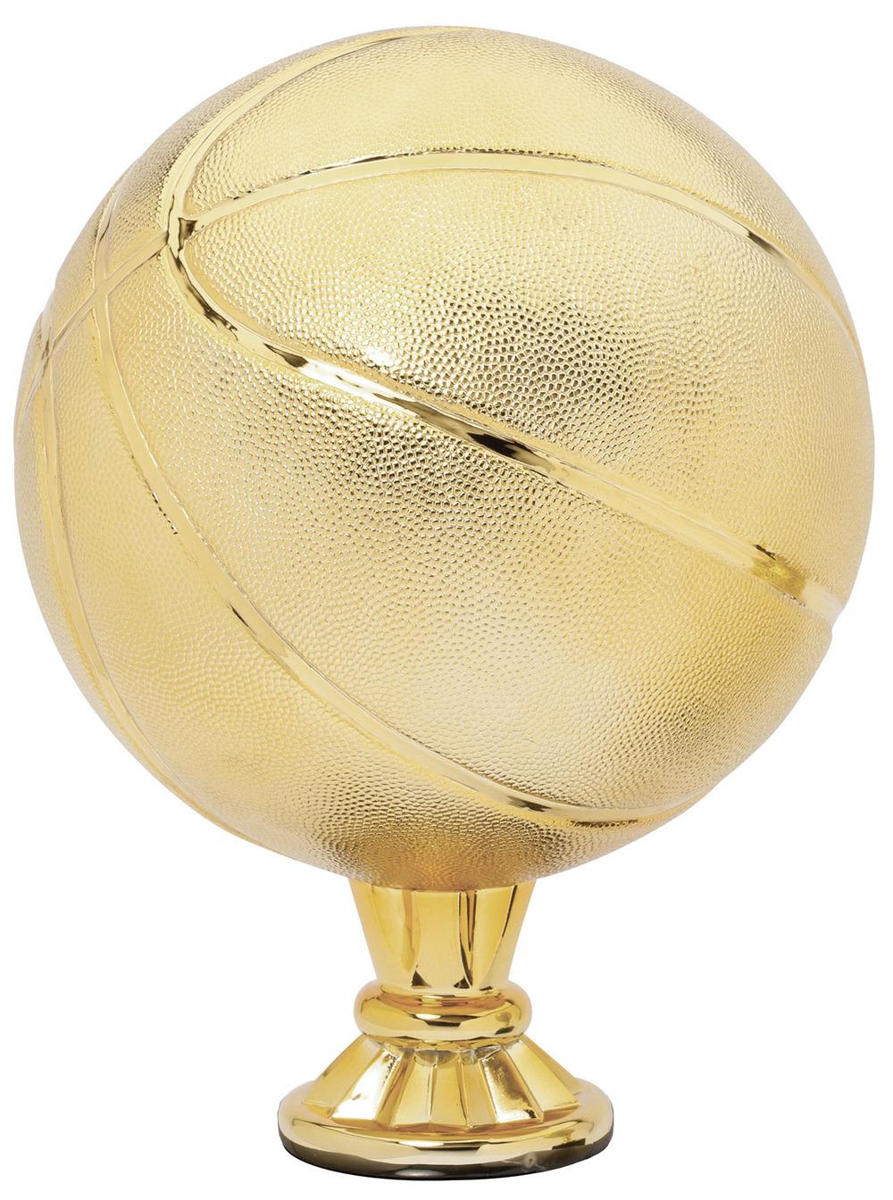 "Basketball - Gold   RG3103 - 11.5"" tall  Price = $109"
