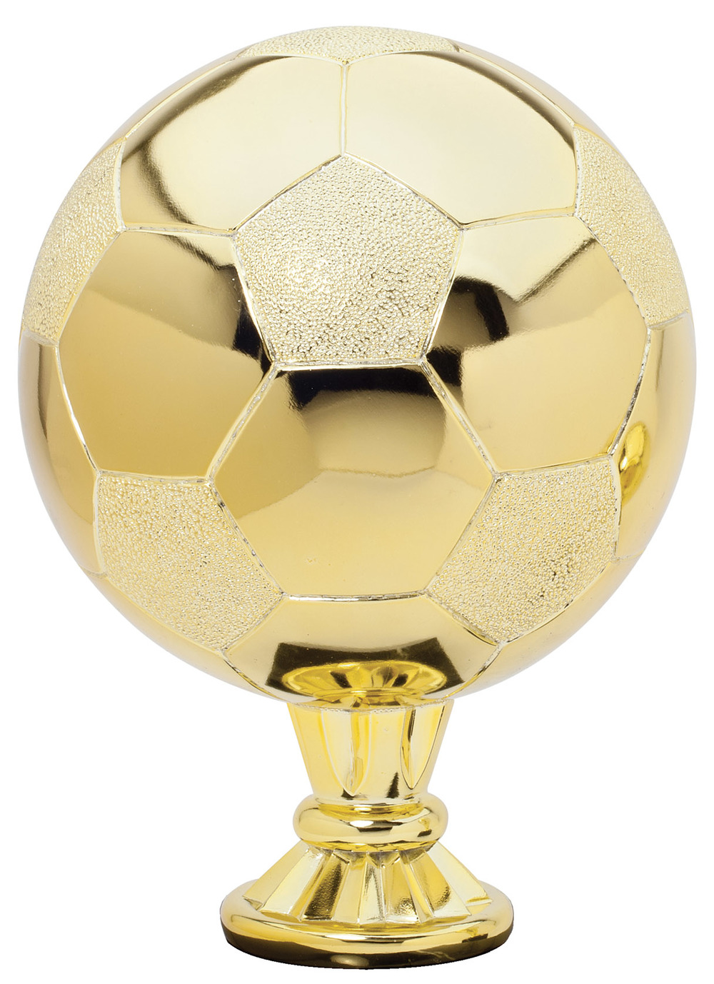 "Soccer - Gold   RG3113 - 11.5"" tall  Price = $109"